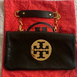 Tory Burch Clutch with strap and dust bag